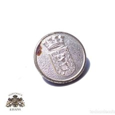 Militaria: BOTÓN ESCUDO ZARAGOZA.- 2,2 CM DIÁMETRO. Lote 128275895