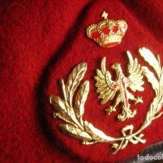 Militaria: BOINA ELOSEGUI TALLA 58 DE OFICIAL JEFE DE LA ACADEMIA GENERAL MILITAR DE ZARAGOZA. AÑO 1987.. Lote 128413007