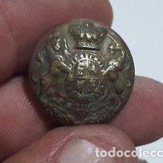 Militaria - BONITO BOTON MILITAR DE LOS CASACAS ROJAS INGLESES SIGLO XVIII - 129379703