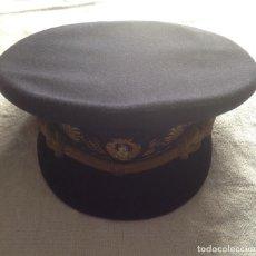 Militaria: ANTIGUA GORRA DE PLATO DE INGENIERO NAVAL.. Lote 129468107
