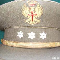 Militaria: GORRA CAPITAN ÉPOCA FRANCO BUEN ESTADO. Lote 130235318