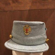 Militaria: GORRA MONTAÑERA AGM ZARAGOZA AÑOS 70. Lote 130388106
