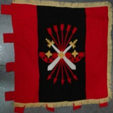 Militaria: ESTANDARTE DE LA GUARDIA DE FRANCO DE NAVARRA. Lote 130535394
