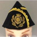Militaria: GORRA DE COMISARIO DE FRONTERAS DEL CUERPO NACIONAL DE POLICIA TALLAS 54 A LA 60. Lote 132932554