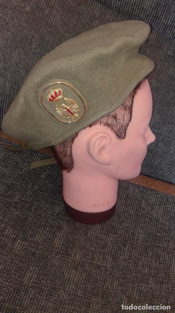 BOINA EJÉRCITO.INFANTERÍA.1990 (Militar - Boinas y Gorras )