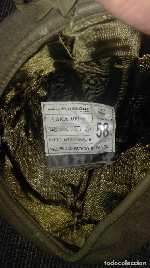 Militaria: boina Ejército.infantería.1990 - Foto 4 - 130847400