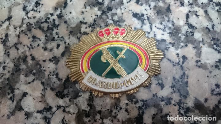 PLACA GUARDIA CIVIL (Militar - Otros relacionados con uniformes )