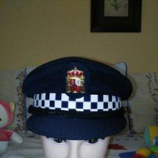 Militaria: GORRA DE PLATO POLICÍA LOCAL ANDALUCÍA.. Lote 130991028