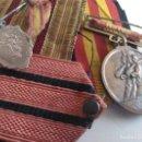 Militaria: ANTIGUOS GALONES,CINTA Y MEDALLA ALZAMIENTO VICTORIA. Lote 131035956