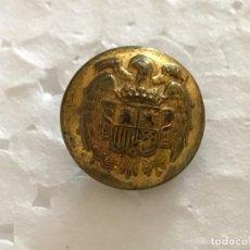 Militaria: BOTON DE ANILLA FABRICACION NACIONAL, EPOCA DE FRANCO, ESPAÑA FALANGE. Lote 131039576