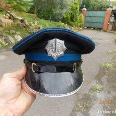 Militaria: GORRA POLICÍA BELGA AÑOS 50. Lote 131512602