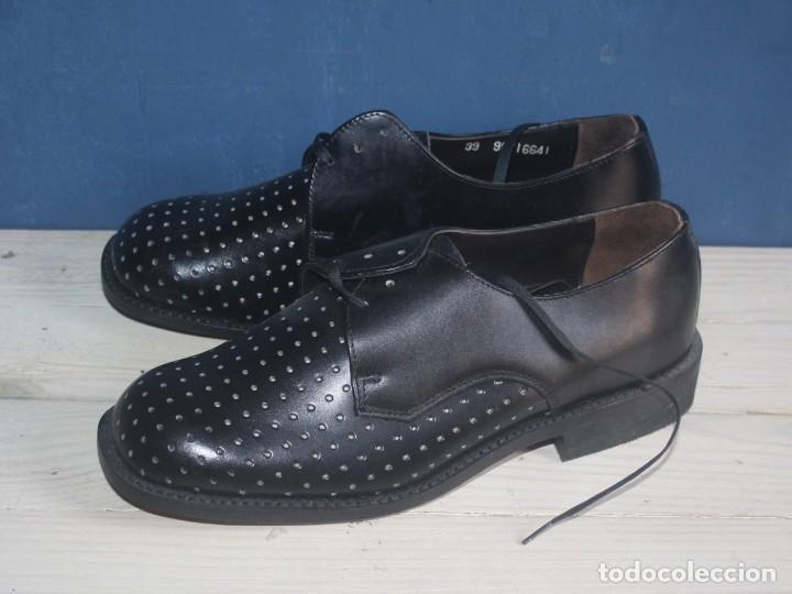 Militaria: Zapatos Vintage de Hombre - Caballero - Segarra - Sin uso -Talla 39 - Lote 1 Correos - Foto 2 - 131748978