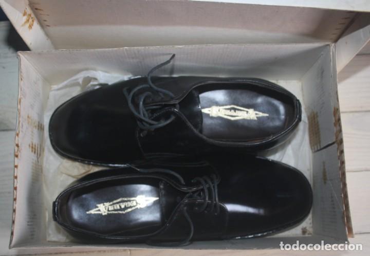 Militaria: Zapatos Vintage de Hombre - Caballero - Segarra - Sin estrenar -Talla 38 - Lote 2 Correos - Foto 2 - 131749482