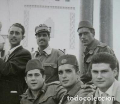 Militaria: TERESIANA ATN. GORRA TROPAS NÓMADAS DEL SÁHARA TALLA GRANDE 59, PERFECTO ESTADO. - Foto 8 - 128207107