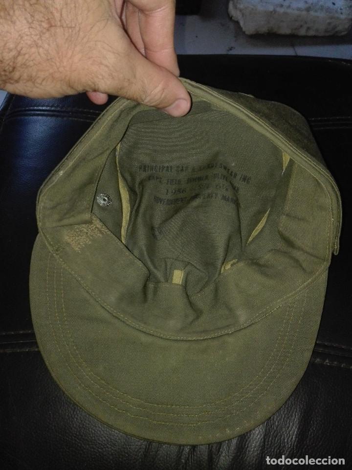 Militaria: gorra militar.Canadá.1956 - Foto 3 - 131883290