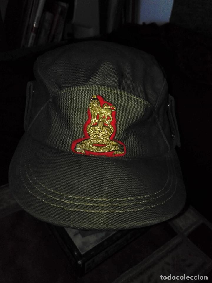Militaria: gorra militar.Canadá.1956 - Foto 7 - 131883290