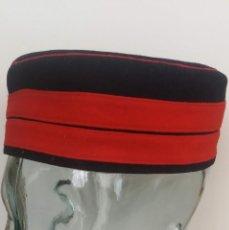 Militaria: ANTIGUO Y PRECIOSO GORRILLO DE CUARTEL - GORRO PANADERO CUARTELERO DE TROPA - GUERRA AFRICA - EPOCA . Lote 131933602