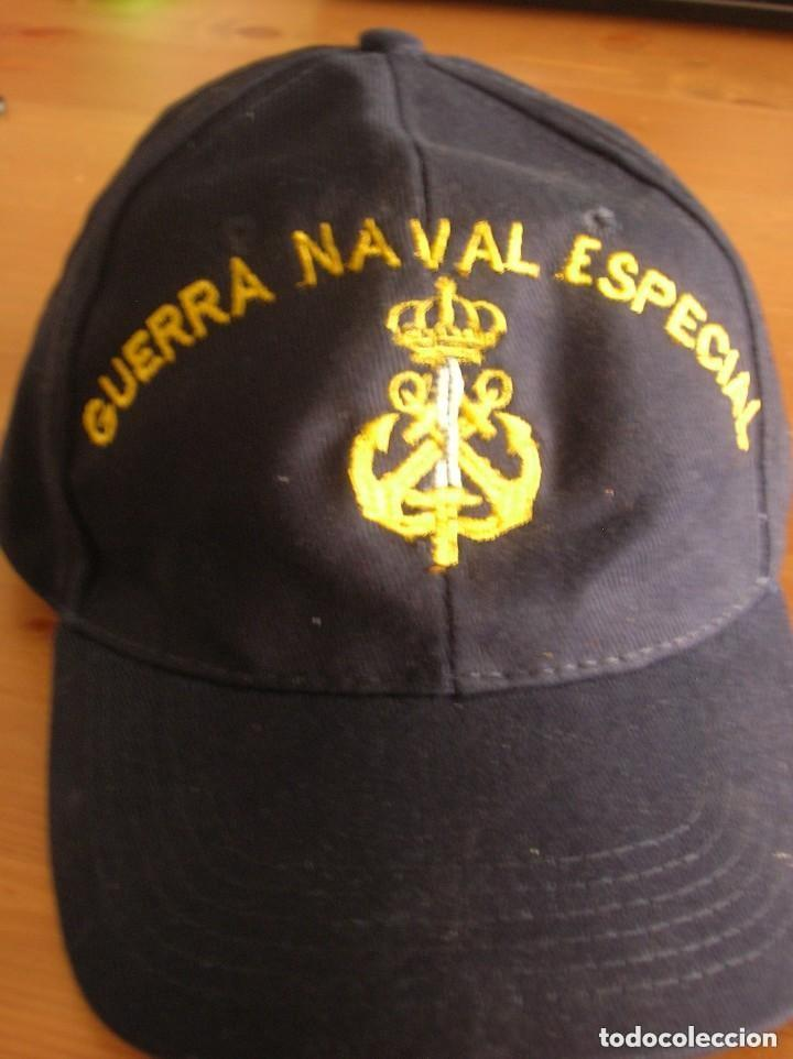 RARA GORRA DE GUERRA NAVAL ESPECIAL. ARMADA ESPAÑOLA. (Militar - Boinas y Gorras )