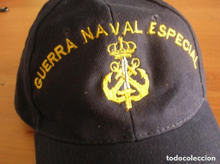 Militaria: RARA GORRA DE GUERRA NAVAL ESPECIAL. ARMADA ESPAÑOLA. - Foto 7 - 132031258