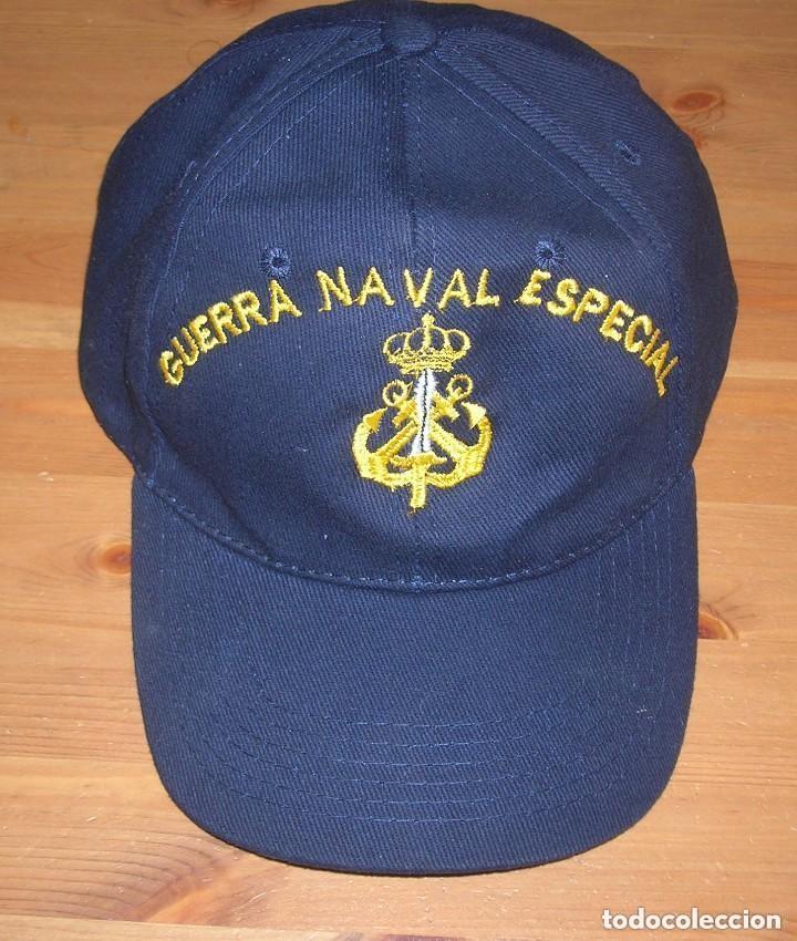 Militaria: RARA GORRA DE GUERRA NAVAL ESPECIAL. ARMADA ESPAÑOLA. - Foto 8 - 132031258