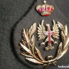 Militaria: EXCELENTE BOINA ELOSEGUI DE TENIENTE GENERAL DEL EJERCITO DE TIERRA. LANA 100%. TALLA 58. AÑOS 80.. Lote 132032166