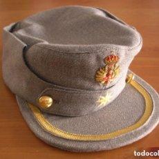 Militaria: GORRA MONTAÑERA DE OFICIAL JEFE DE LA ACADEMIA GENERAL MILITAR DE ZARAGOZA. ORIGINAL 100%. BORDADA.. Lote 132032822
