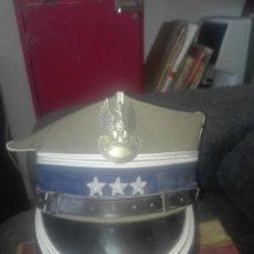 Militaria: GORRA MILITAR CORONEL POLACA.ULANOS.ANTIGUO ORIGINAL. Lote 132057794