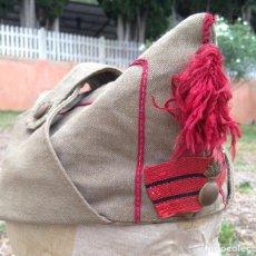 Militaria: GORRO DE SUBOFICIALES Y TROPA. REGLAMENTO DE 1943. CABO DE ARTILLERIA. . Lote 132092774