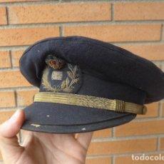 Militaria: * ANTIGUA GORRA DE PLATO DE CORREOS, BORDADA, EPOCA ALFONSO XIII, ORIGINAL. ZX. Lote 132098954