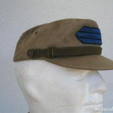 Militaria: GORRA COREANA M67. GORRILLA DE FAENA, ATN, COLOR CAQUI CON GALON DE CABO AZUL: TIRADORES DE IFNI. Lote 132315122