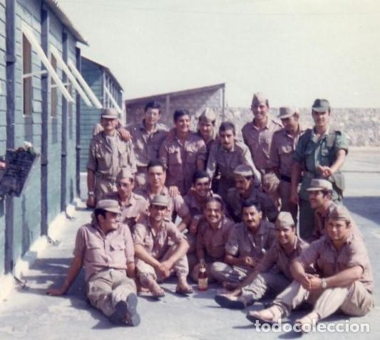 Militaria: GORRA COREANA M67. GORRILLA DE FAENA, ATN, COLOR CAQUI CON GALON DE CABO AZUL: TIRADORES DE IFNI - Foto 7 - 132315122