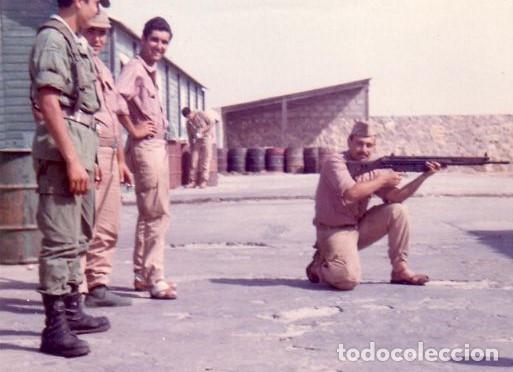 Militaria: GORRA COREANA M67. GORRILLA DE FAENA, ATN, COLOR CAQUI CON GALON DE CABO AZUL: TIRADORES DE IFNI - Foto 8 - 132315122