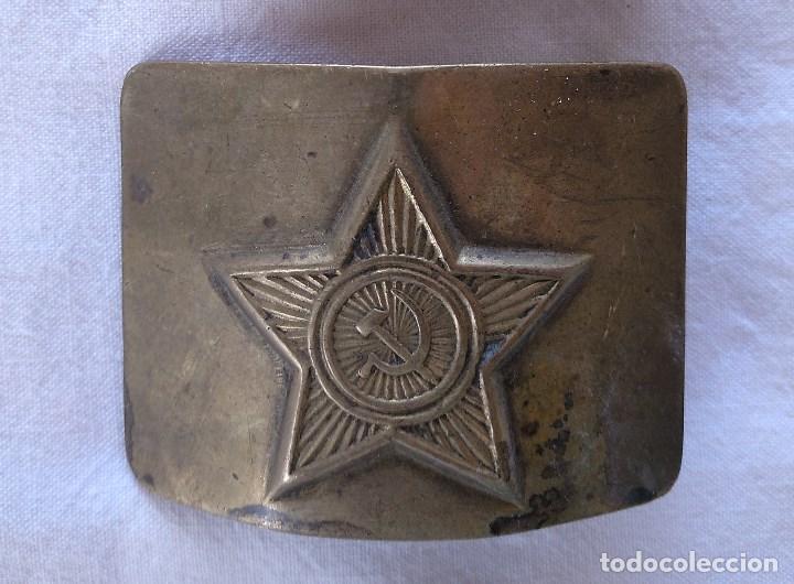 HEBILLA SOVIÉTICA. (Militar - Cinturones y Hebillas )