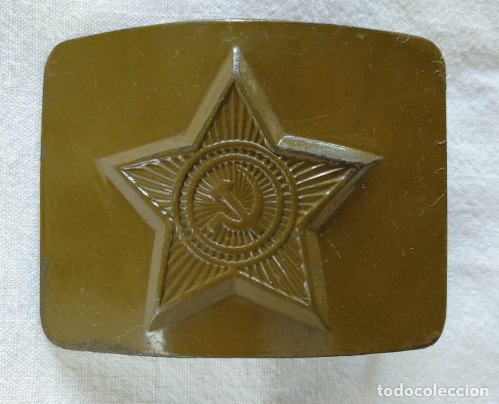 HEBILLA SOVIÉTICA. VARIANTE. (Militar - Cinturones y Hebillas )