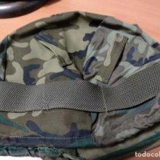 Militaria: FUNDA DE CASCO EN PERFECTAS CONDICIONES. Lote 132520182