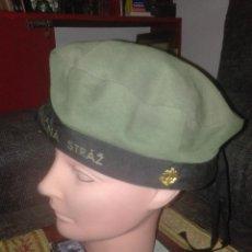 Militaria: GORRO TROPA,ARMADA POLACA.AÑOS 60. Lote 132689810