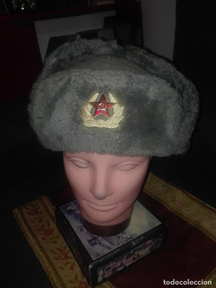 GORRA INVIERNO URSS.AÑOS 50-60. (Militar - Boinas y Gorras )