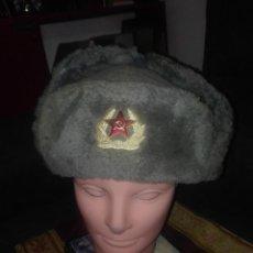 Militaria: GORRA INVIERNO URSS.AÑOS 50-60.. Lote 132690922