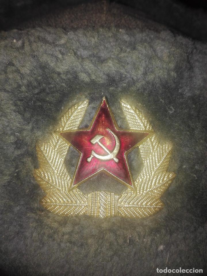 Militaria: Gorra invierno URSS.años 50-60. - Foto 2 - 132690922