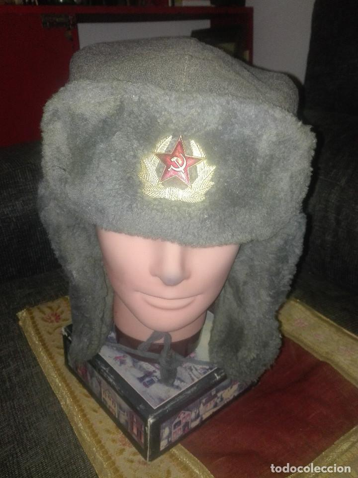 Militaria: Gorra invierno URSS.años 50-60. - Foto 7 - 132690922