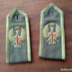 Militaria: HOMBRERAS JEFE REGLAMENTO 43. Lote 132750402