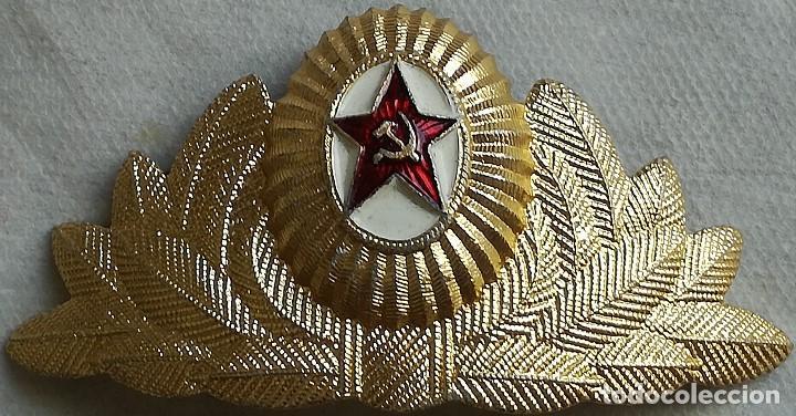COCARDA GORRA EJÉRCITO – FUERZA AÉREA URSS CCPP. RUSIA COMUNISTA. 1970-1991. EJÉRCITO ROJO (Militar - Boinas y Gorras )