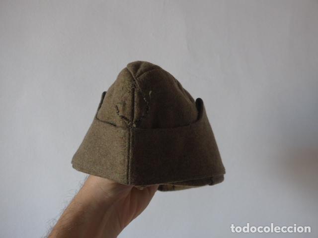 ANTIGUO GORRILLO ALEMAN, DE INVIERNO. ALEMANIA. (Militar - Boinas y Gorras )