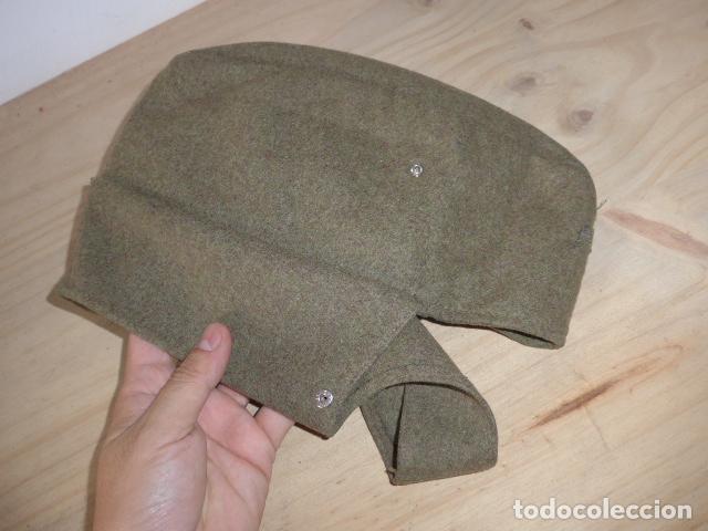Militaria: Antiguo gorrillo aleman, de invierno. Alemania. - Foto 3 - 132919782