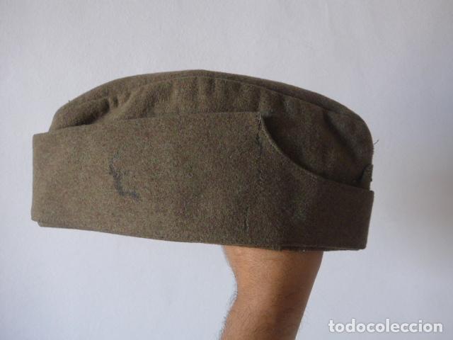 Militaria: Antiguo gorrillo aleman, de invierno. Alemania. - Foto 4 - 132919782