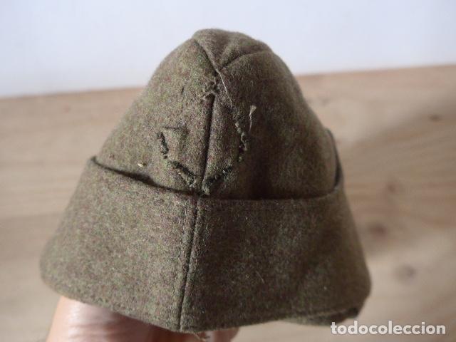 Militaria: Antiguo gorrillo aleman, de invierno. Alemania. - Foto 5 - 132919782