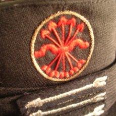 Militaria: GORRA DE JERARCA FALANGISTA. JEFE DE CENTURIA DE FALANGE. GUARDIA DE FRANCO. CALIDAD EN EL BORDADO.. Lote 132972150