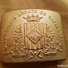 Militaria: HEBILLA SOMATENES DE CATALUÑA EPOCA FRANQUISTA. Lote 133006250