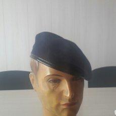 Militaria: BOINA MILITAR AZUL MARINO A ESTRENAR. Lote 134154630