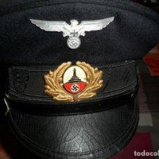 Militaria: GORRA MILITAR ALEMANA 1944CUERPO DE RESERVISTAS . Lote 133223194